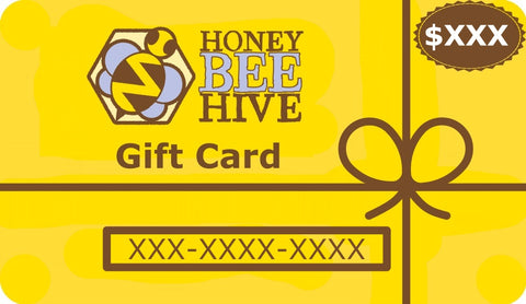 Gift Card for Honey Bee Hive Patterns