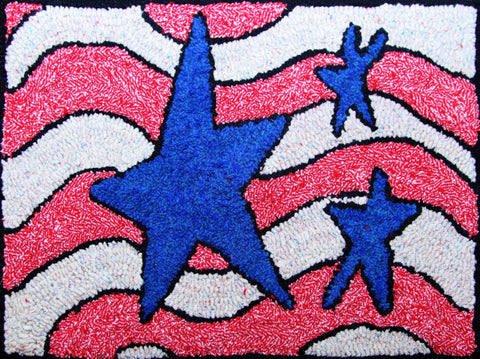 K1001: 'Merica Rug Hooking Kit