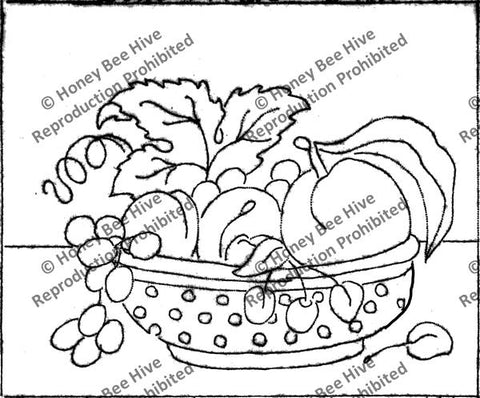 P511: Bowl Of Fruit, Offered by Honey Bee Hive