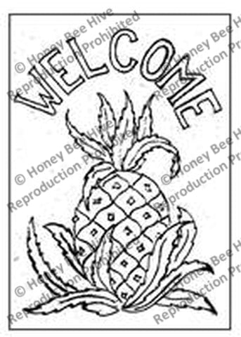 P536: Welcome Pineapple, Offered by Honey Bee Hive