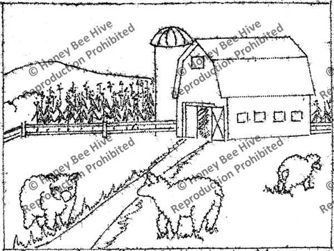 P540: Bo Peep's Sheep, Offered by Honey Bee Hive
