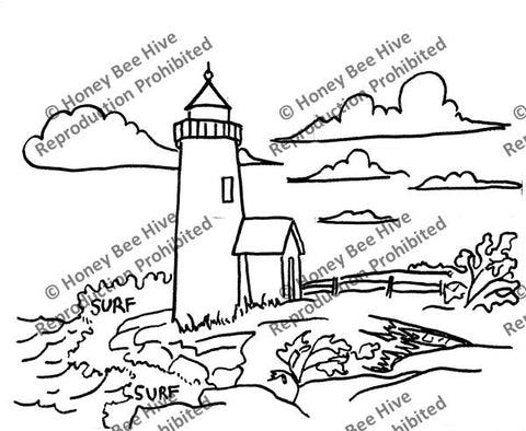 P626: Lighthouse, Offered by Honey Bee Hive