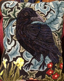 P863: Forest Raven, Hooked by Sheila Stewart
