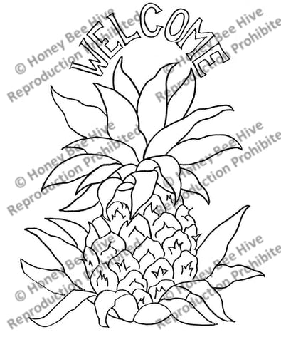 TS541: Hospitality Pineapple, Offered by Honey Bee Hive