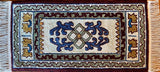 Maltese Magic, rug hooked by Sandy Myers