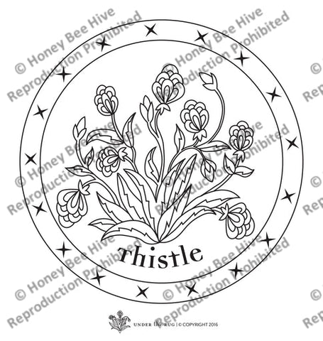 UTR-cs-010: Thistle - Chairpad, Offered by Honey Bee Hive