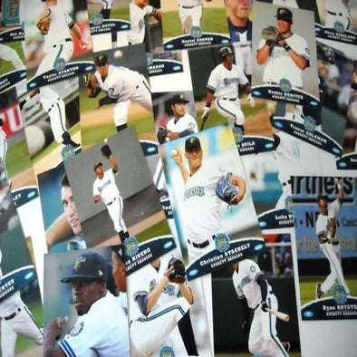 Everett AquaSox 2009 Baseball Card Set