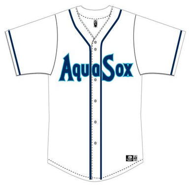 Everett AquaSox Adult Replica Jersey
