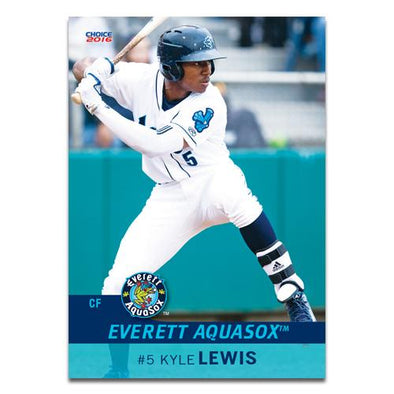 Everett AquaSox 2016 Baseball Card Set