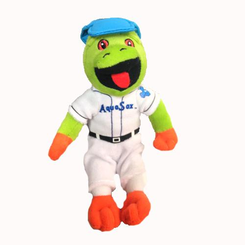 Everett AquaSox Little Webbly Mascot Plush