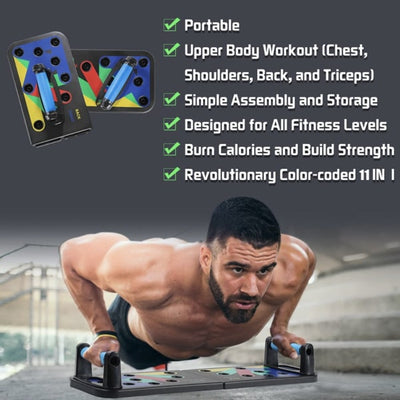 9-In-1 Push-Up Maximizer Board