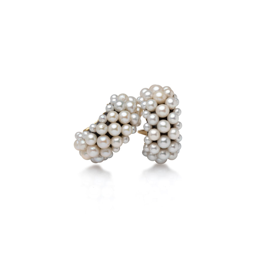Pearl Caviar Earrings
