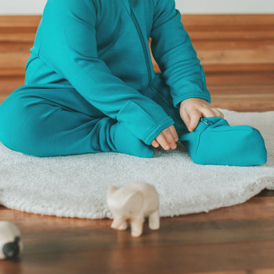 Superfine Merino Zip Sleepsuit