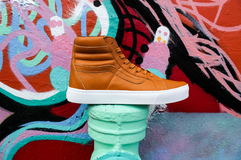 New Vans Sk8 Hi Premium Leather Now Available!