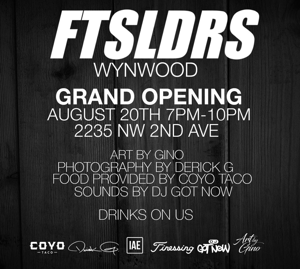 This Saturday! Grand Opening!