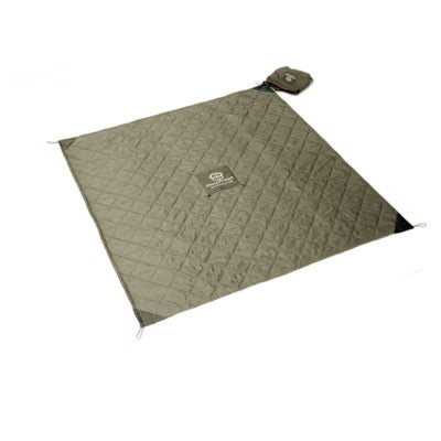 Quilted Monkey Mat - Gray