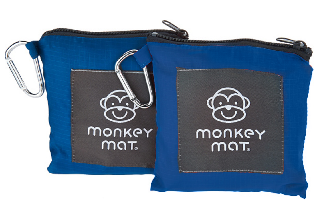 **LIMITED TIME OFFER $19.99** - 2 Monkey Mats (Blue)