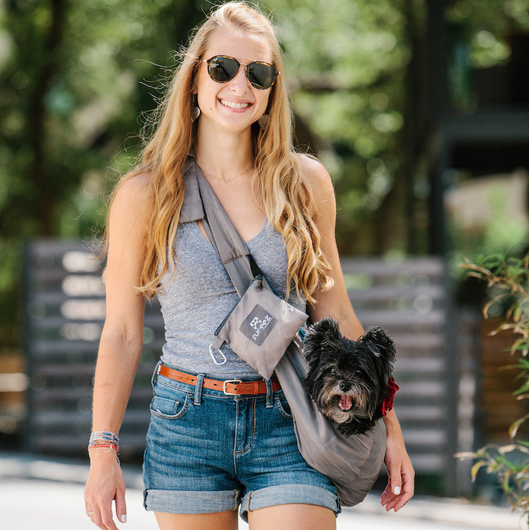 Fur-eez Portable Pet Sling Carrier