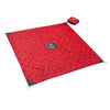 Quilted Monkey Mat® - Red