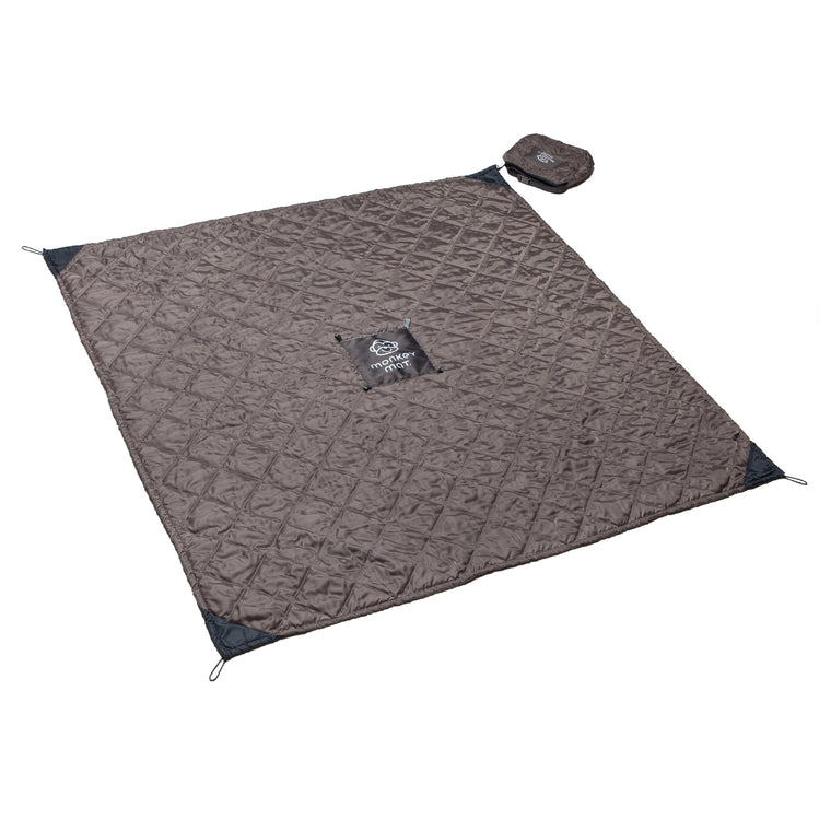 Quilted Monkey Mat® - Gray