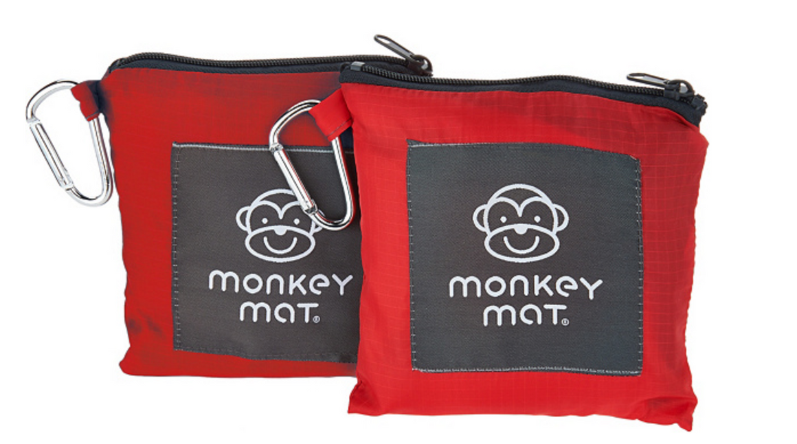 **LIMITED TIME OFFER $24.99** - 2 Monkey Mats (Red Coral Crush)