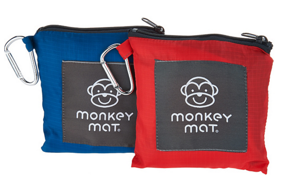 **LIMITED TIME OFFER $24.99** - 2 Monkey Mats (Red Coral Crush + Blue Yonder)