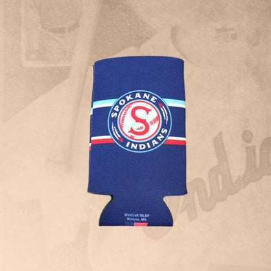 Spokane Indians Navy Can Cooler