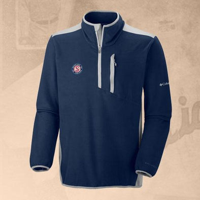 Spokane Indians Columbia Crosslite Navy Logo Fleece