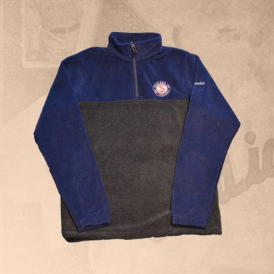 Spokane Indians Columbia Flanker 1/2 Zip Navy Fleece