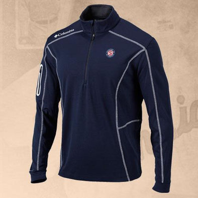 Spokane Indians Columbia Shotgun 1/4 Zip Navy