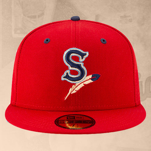 Spokane Indians Fitted Home Game Cap
