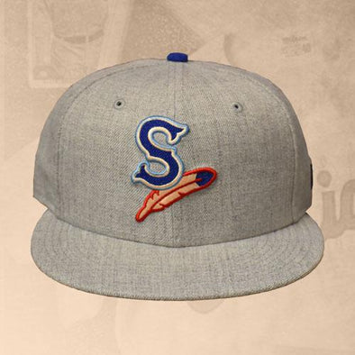 Spokane Indians Fitted Heather Hype