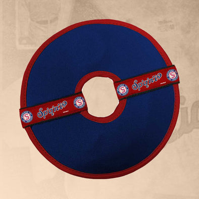 Spokane Indians Pet Flying Disc Squeaky Toy