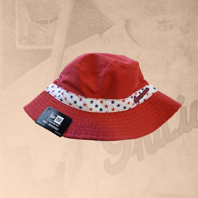 Spokane Indians Infant Red Bucket Cap