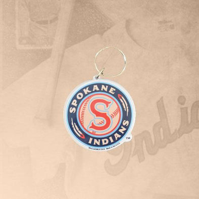 Spokane Indians Logo Acrylic Key Chain