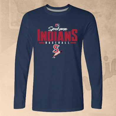 Spokane Indians Long Sleeve Navy That Tee
