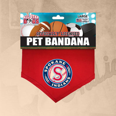 Spokane Indians Pet Bandana
