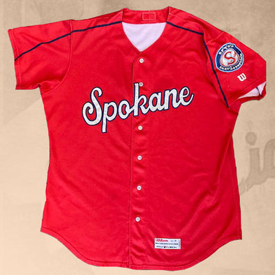Spokane Indians Authentic BP Jersey