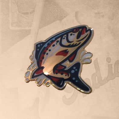 Spokane Indians Redband Lapel Pin
