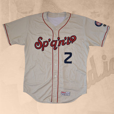 Spokane Indians Wilson On-Field Home Jersey