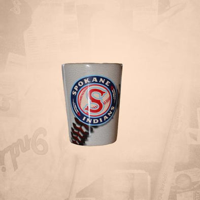 Spokane Indians Baseball Shot Glass