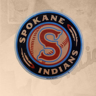 Spokane Indians Static Cling Die Cut Logo