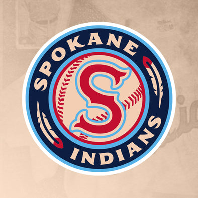 Spokane Indians Logo Sticker