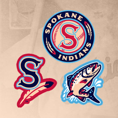 Spokane Indians Triple Spirit Sticker