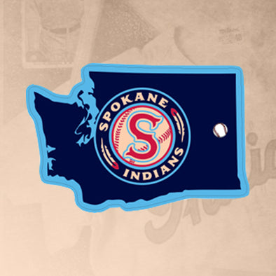 Spokane Indians Washington State Sticker