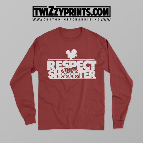 Respect The Shooter [Long Sleeve Crew Neck]