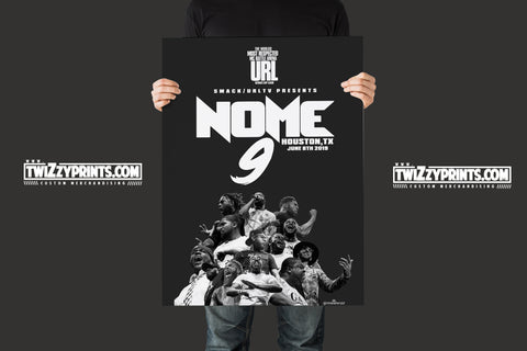 NOME 9 LIMTED EDITION /UNFRAMED POSTER