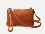Stadium Clutch Cross Body - Tan