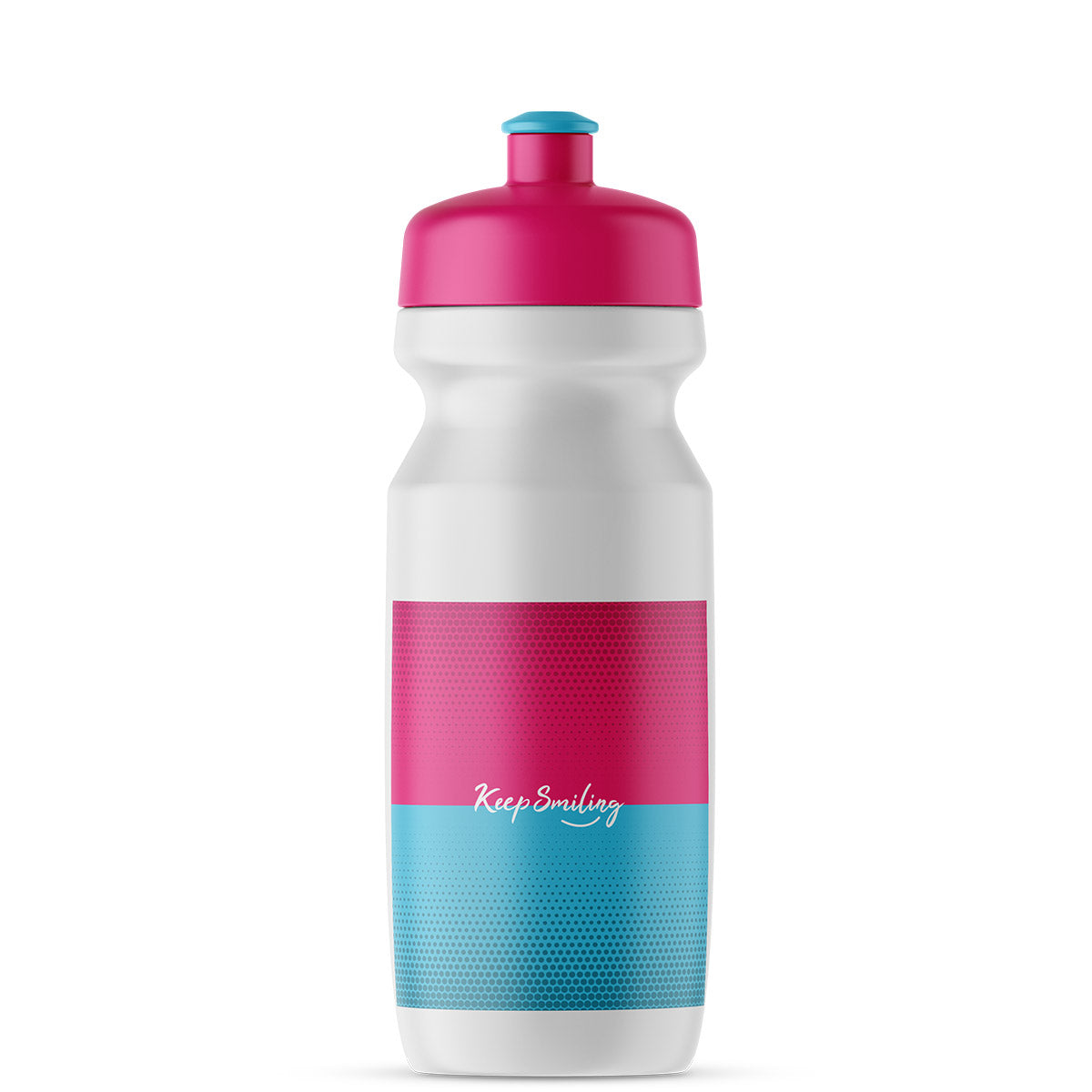 Keep Smiling Drinking Bottle - Filur - 600 ml