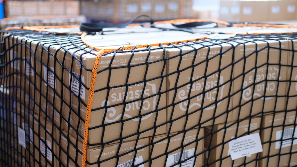 reusable rope covers for all warehouse movements